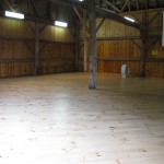 New Barn Floor