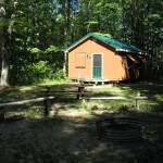 One of the A Cabins